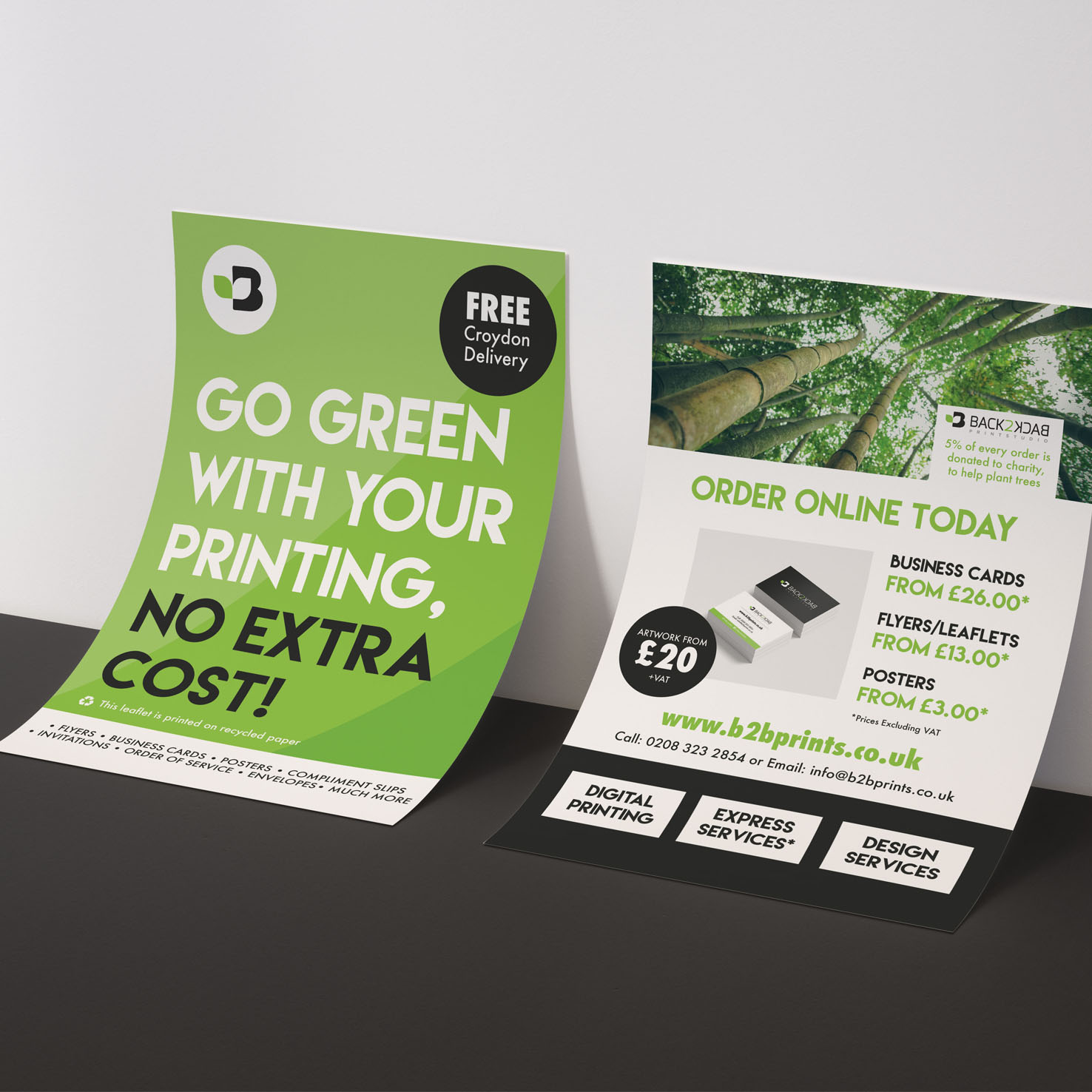 Eco Friendly Flyers